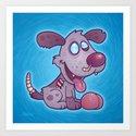 Zombie Puppy Art Print