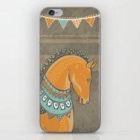 Horse Head - Chocolate iPhone & iPod Skin