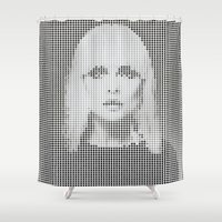 Heart of... (White version) Shower Curtain