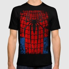 Ben Reilly As Spider-Man Mens Fitted Tee Black SMALL