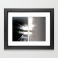 corner of the earth Framed Art Print