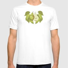Pear Mens Fitted Tee White SMALL