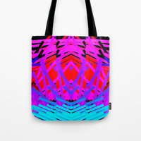 Neon Time Tote Bag