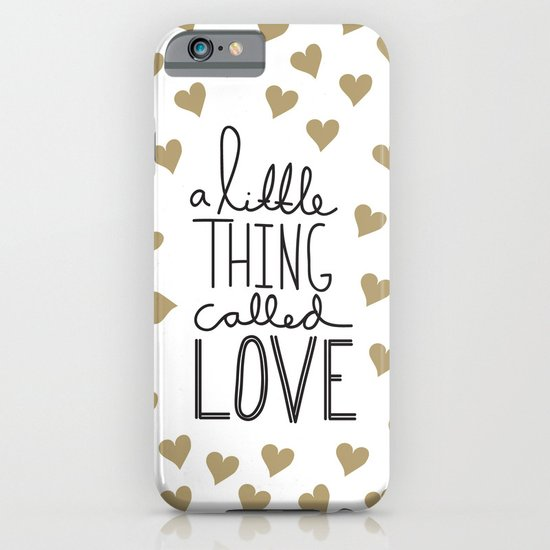 A Little Thing Called Love iPhone & iPod Case