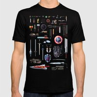 Famous Weapons Mens Fitted Tee Black SMALL