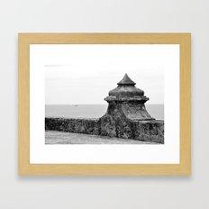The Fort Framed Art Print