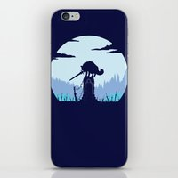 Grey Wolf Sif (Dark Souls) iPhone & iPod Skin