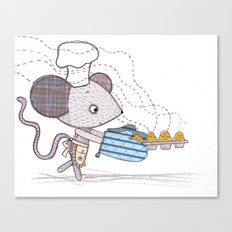 Bakery Mouse Canvas Print