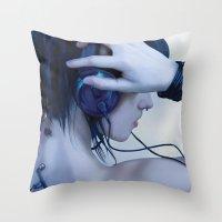 Audio Throw Pillow