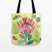 Protea Tropicana Tote Bag
