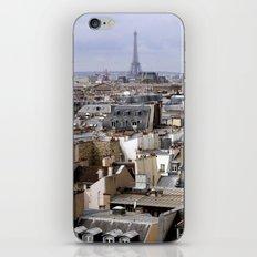 Paris Rooftops iPhone & iPod Skin