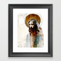 Shalom Aleichem/Peace Be… Framed Art Print