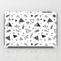 Organic Triangles iPad Case