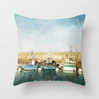 Houat #6 Throw Pillow