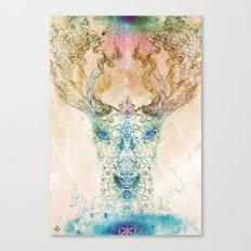 Medicina Cosmic Shoko - Light DeerTree Canvas Print