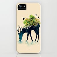 iPhone 5s & iPhone 5 Cases featuring Watering (A Life Into Itself) by Budi Kwan