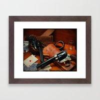 45 Colt Framed Art Print