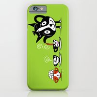 iPhone & iPod Case featuring Boston Tea Partyware by DoggieDrawings
