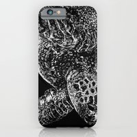 Beneath the Waves the Sea Turtle Swims iPhone 6 Slim Case