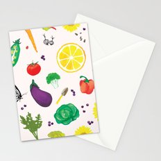 Delicious Vegetables Stationery Cards