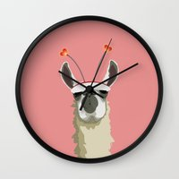 Llove You Wall Clock