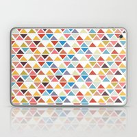 Triangle love Laptop & iPad Skin