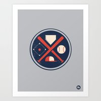 Baseball Basics Art Print