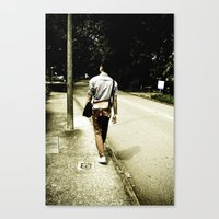 His and Her Journey Canvas Print