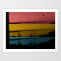 Three-colors Movie Art Print