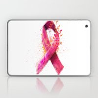Breast Cancer Ribbon Laptop & iPad Skin