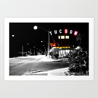 The Miracle Mile Art Print