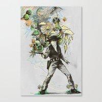 Quickdraw Canvas Print