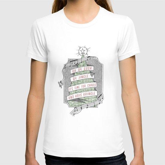 carols & kris kringle T-shirt