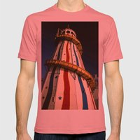 Helter Skelter Mens Fitted Tee Pomegranate SMALL
