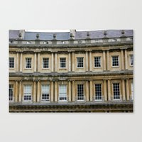 The Crescent, Bath Canvas Print
