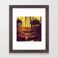 my own secret way home Framed Art Print
