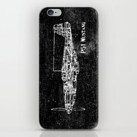 North American P51 Musta… iPhone & iPod Skin