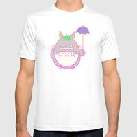 TotoroFan art  Mens Fitted Tee White SMALL
