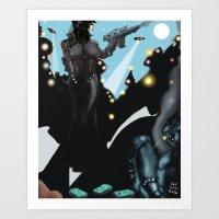Perihelion [Digital Figure Illustration] Art Print