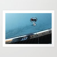 Cory's Buick  Art Print