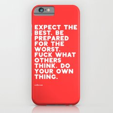 YOUR OWN THING Slim Case iPhone 6s