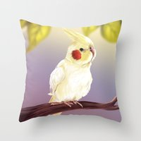 Hino Throw Pillow