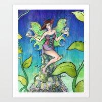The Fairy Art Print
