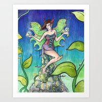 The Fairy Art Print