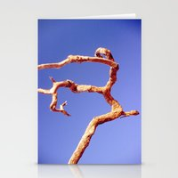 Tree Blue Stationery Cards