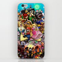 Legend of Seven Stars! iPhone & iPod Skin