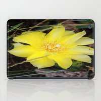 cactus flower iPad Case