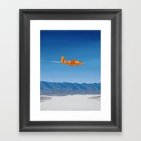 Bell X-1 Framed Art Print