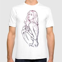 Beauty The Beast Mens Fitted Tee White SMALL