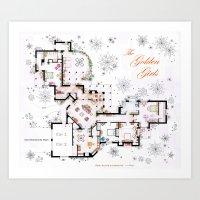 The Golden Girls House F… Art Print